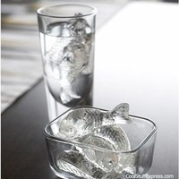 Make Fish Shaped Ice Cubes