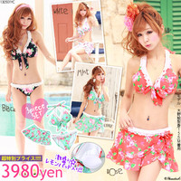 Rakuten: Sweet Beach Girl ♪  Rose bikini sets- Shopping Japanese products from Japan