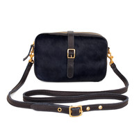 Supreme Navy Haircalf Mini Sac