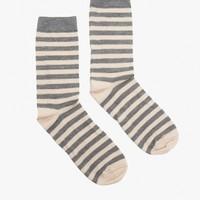 Irma Striped Crew Socks