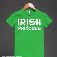 Irish Princess (Walt)-Female Grass T-Shirt