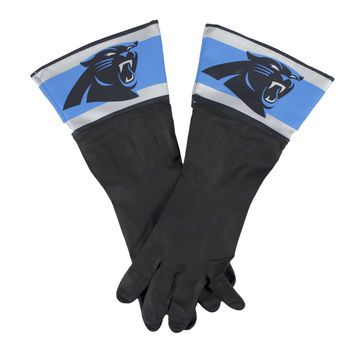 Carolina Panthers NFL Dish Gloves