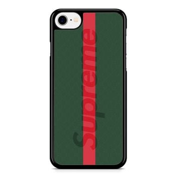 Supreme Green iPhone 8 Case