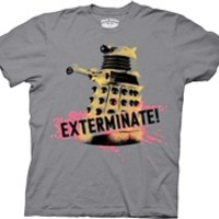 Doctor Who Exterminate T-Shirt | OldSchoolTees.com