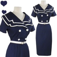 New SAILOR Pinup 50s Retro ROCKABILLY Party Dress 3X - eBay (item 300564730984 end time Jul-05-11 15:26:36 PDT)