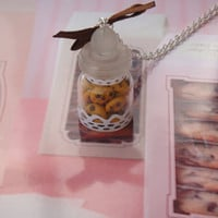 vial necklace cookies by maemele on Etsy