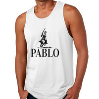 Men's Tank Top Pablo Escobar El Patron Mexicanos Cool Top