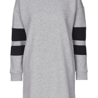 PETITE Sporty Sweatshirt Dress