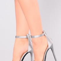 Nancy Fancy Heel - Pewter