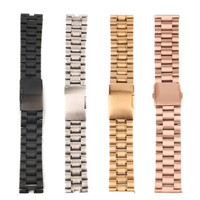 6 Type Quality Watch Stainless Steel Link Bracelet Strap Band For Fitbit Blaze 23mm