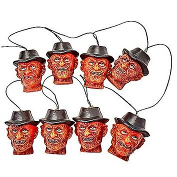 Freddy Krueger String Lights - A Nightmare on Elm Street - Spirithalloween.com