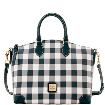 Dooney & Bourke Tucker Satchel (Introduced by Dooney & Bourke at $228 in Jul 2016) - Black | Overstock.com Shopping - The Best Deals on Tote Bags