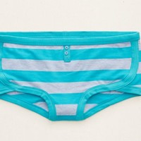 Aerie Women's Boyshort (Thunder Teal)