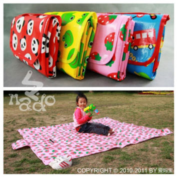 finished carpet  NADO Children's Play Mat Crawling Baby Blanket Cartoon Beach Mat | Picnic Mat outdoor Picnic