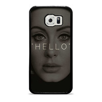 Hello Adele Potrait Face Actress Samsung Galaxy S6 Case