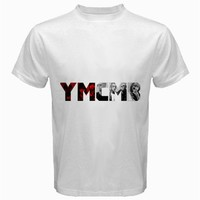 iOffer: YMCMB White tshirt size S,M, L ,XL, 2XL, 3XL, 4XL and 5 for sale