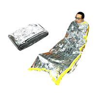 Military Army Bag Rescue Survival Mylar Foil Emergency Disaster Sleeping Bag New