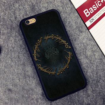 The Lord of the Rings Printed Soft TPU Skin Mobile Phone Case For Fundas iPhone 6 6S Plus 7 7 Plus 5 5S 5C SE 4 4S Housing Shell