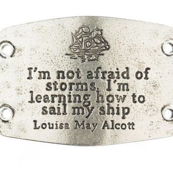 """I'm Not Afraid of Storms, I'm Learning How to Sail My Ship"" Lenny and Eva Large Sentiment"