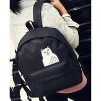 Women Backpack Mochila Backpack Ladies Shoulder Bags Teenage Girls School Backpack Female Animal Prints Black Bags