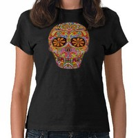 Day of the Dead T Shirt from Zazzle.com