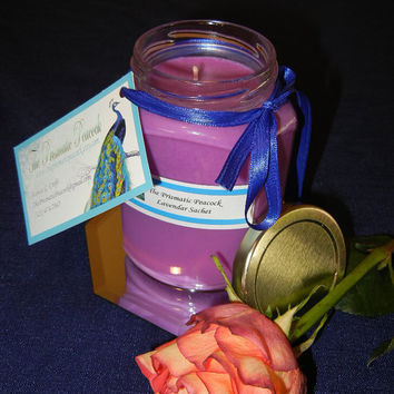 12 oz All Natural Soy Container Candle - Lavendar Sachet