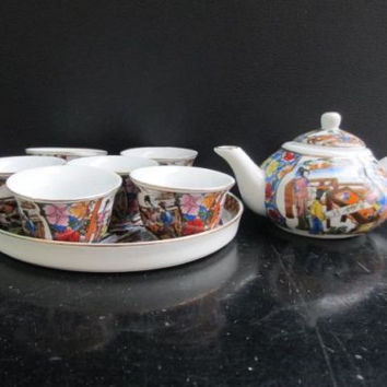 Four ancient classics, a dream of red mansions) small ceramic tea sets hip / 2