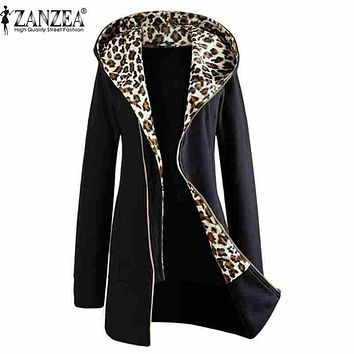 Women's Jackets Zipper Up Coat