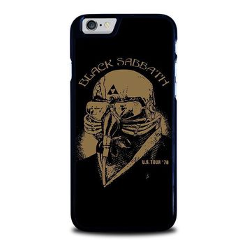 black sabbath iphone 6 6s case cover  number 1