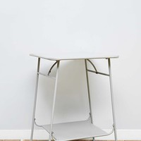 Factory Side Table in Light Grey - Urban Outfitters