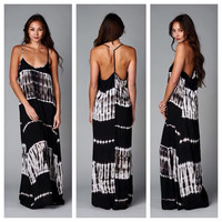 I Want You Back Tie Dye Maxi Dress