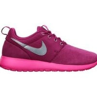 The Nike Roshe Run (3.5y-7y) Girls' Shoe.
