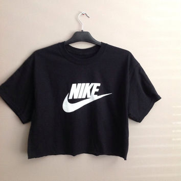 Old school nike crop top