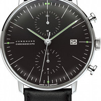 Junghans Max Bill Chronoscope Automatic Chronograph Watch 4601