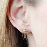 Catbird :: Catbird Jewelry :: Sleeping Beauty Chandelier Earrings