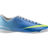 The Nike Mercurial Victory IV Men's Indoor-Competition Soccer Shoe.