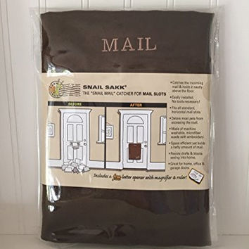 SNAIL SAKK: Mail Catcher for Mail Slots - CHOCOLATE (2nd Quality)