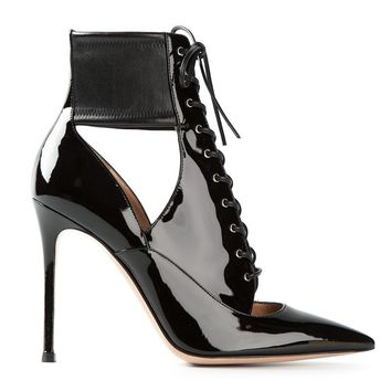 Gianvito Rossi 'Kate' lace up boots