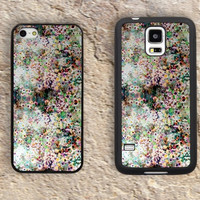 Floral Patterns iPhone Case-Purple iPhone 5/5S Case,iPhone 4/4S Case,iPhone 5c Cases,Iphone 6 case,iPhone 6 plus cases,Samsung Galaxy S3/S4/S5-158