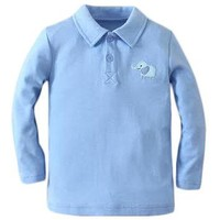Cozy Up! Blue Polo Shirt