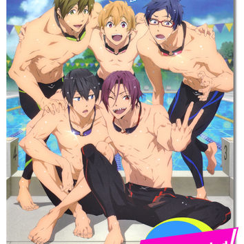 Free! TV Animation Official Fan Art Book - Anime Books