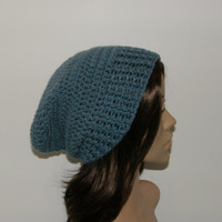 Everyday Slouch Hat  Dusty Blue
