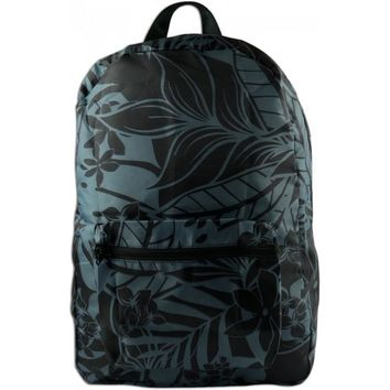 Gray Tropical Foldable Backpack