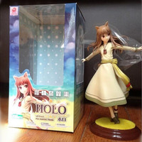 New in box Anime Manga Spice and Wolf Holo Model toy figure stand figurine kawaii ost