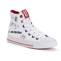 One Direction Autograph Women's High-Top Sneakers
