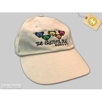Grateful Dead Bears Embroidered Ball Cap
