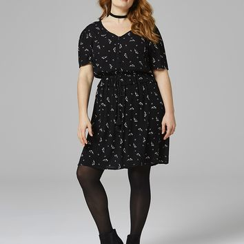 Crinkle Tea Dress | SimplyBe US Site
