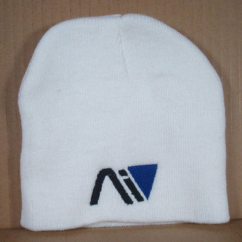 AI or N7 Embroidered Beanies