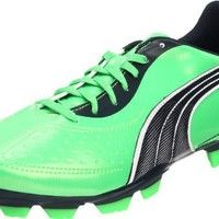 PUMA Men's V5.11 I FG Soccer Cleat,Fluorescent Green/Midnight Navy/White,9 D US
