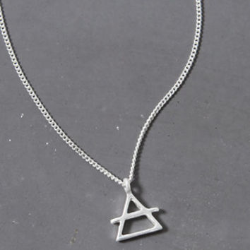 LA Hearts Air Geo Necklace at PacSun.com